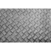 2,0x500x500 mm 1050A H244, ryflowana blacha aluminiowa