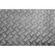4,0x500x500 mm 1050A H244, ryflowana blacha aluminiowa